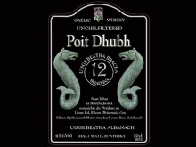Poit Dhubh 12 Y.O. – Blended Malt Scotch Whisky