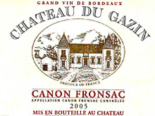Château du Gazin – Canon Fronsac